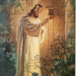 2017 Jesus at the door